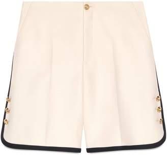 Gucci Wool-silk shorts