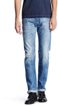 "Diesel Safado Slim Straight Leg Jean - 32"" Inseam $198 thestylecure.com"