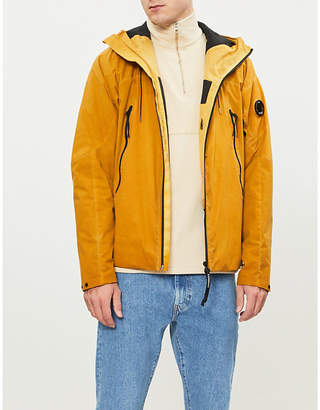 C.P. Company Lens-embellished shell hooded jacket
