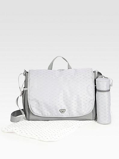 Armani Junior Logo Diaper Bag