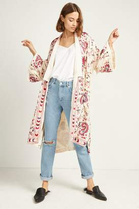 French Connenction Dorothy Embroidered Kimono Jacket