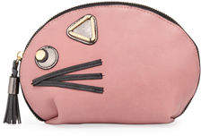 Neiman Marcus Critter Large Dome Cosmetics Case
