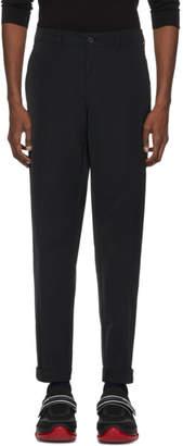 Prada Black Tech Stretch Trousers