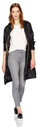 Vera Wang Women's Noely Lightweight Long Mesh Jacket