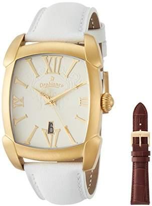Orobianco (オーロビアンコ) - [オロビアンコ] 腕時計 TIME-ORA レッタンゴラ Amazon.jp特別価格 OR-0012-20TH 正規輸入品