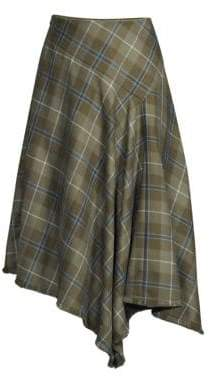 Lafayette 148 New York Tartan Plaid Skirt