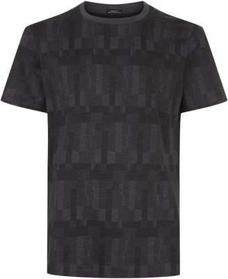 HUGO BOSS Tiburt Geometric Print T-Shirt