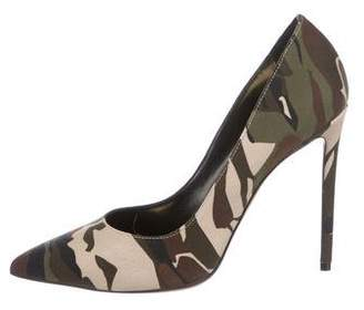 Alexandre Vauthier Camouflage Pointed-Toe Pumps