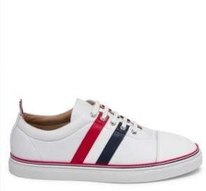 Thom Browne Side Stripe Low-Top Sneakers