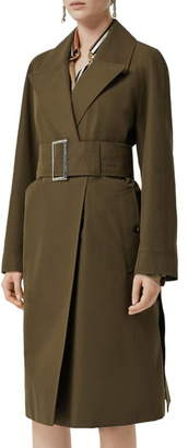 Burberry Camelford Belted Wrap Coat