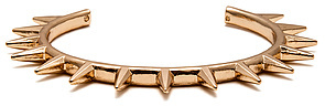 *MKL Accessories The Spiked Metal Cuff in Gold