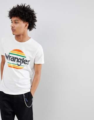 Wrangler Sunset Logo T-Shirt