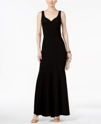 Betsy & Adam V-Back Mermaid Gown $189 thestylecure.com