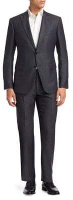 Emporio Armani Modern-Fit Wool-Blend Suit