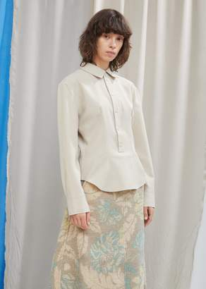 Acne Studios Fitted Button Down Blouse