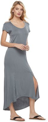 Women's Juicy Couture Embellished Cold-Shoulder Maxi Dress $58 thestylecure.com