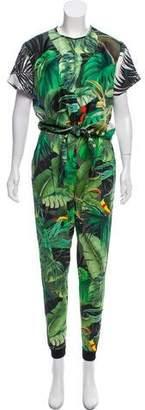 Max Mara Printed Pant Set