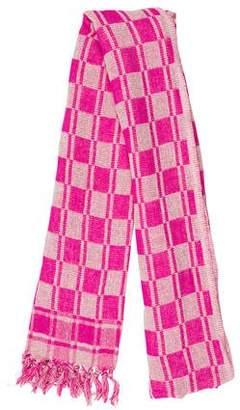 Etoile Isabel Marant Silk Fringe-Trimmed Scarf