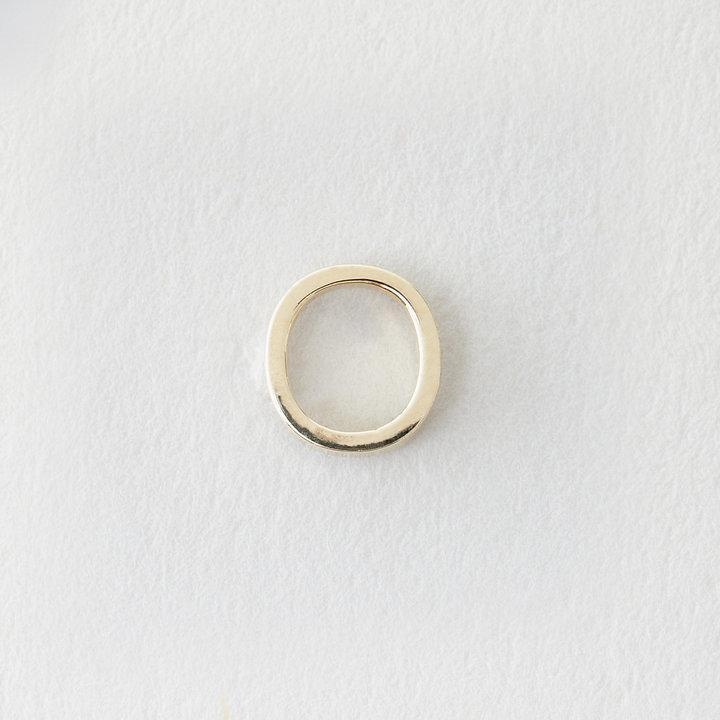 Maya Brenner DESIGNS mini letter stud earring - o