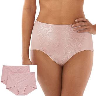 Bali Cottony Extra Firm Control 2-Pack Control Briefs Df6510
