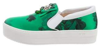 No.21 No. 21 Satin Platform Sneakers