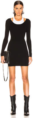 Alexander Wang Bodycon Basic Mini Dress