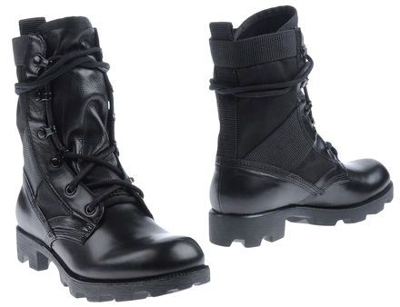 Theyskens' Theory Combat boots