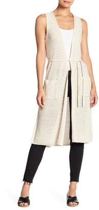 Cupcakes And Cashmere Achava Sleeveless Sweater Duster