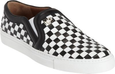 Givenchy Woven Slip-On Sneaker