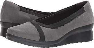 Clarks Women's Caddell Dash Wedge Pump