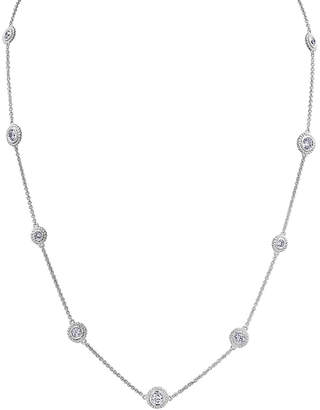 Rob-ert Robert Manse Designs Romanse Silver Cz Necklace