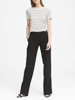 Banana Republic Blake Wide Leg-Fit Washable Bi-Stretch Pant