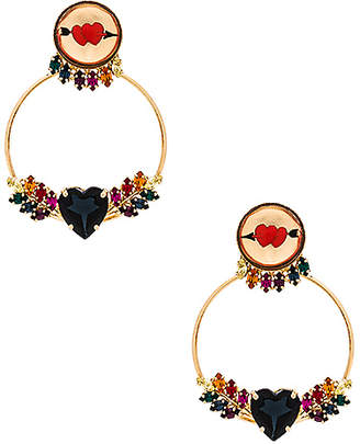 Anton Heunis Love Wings Earring