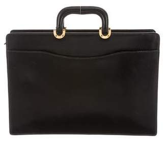 Tiffany & Co. Structured Leather Briefcase