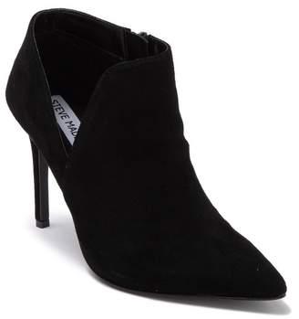 Steve Madden Leather Stiletto Heel Ankle Boot