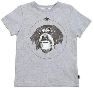 Givenchy Rottweiler Printed Cotton Jersey T-Shirt
