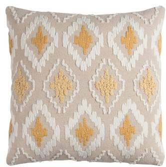 Rizzy Home Diamond Pillow