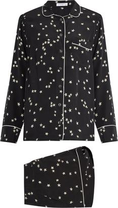 EQUIPMENT Lillian stars-print silk-crepe pyjama set