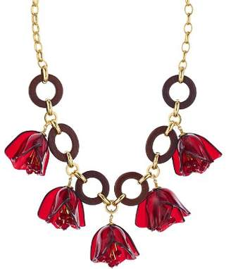 Kate Spade Flower Link Statement Necklace, 16""