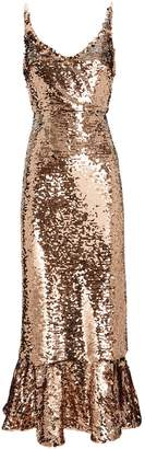 Saloni Aidan Sequin Midi Dress