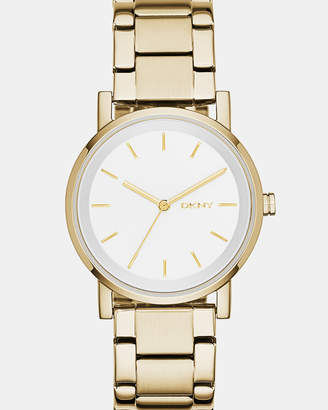 DKNY Soho Gold-Toneen Analogue Watch