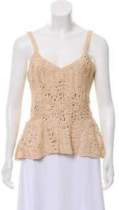 Ralph Lauren Sleeveless Crocheted Top w/ Tags