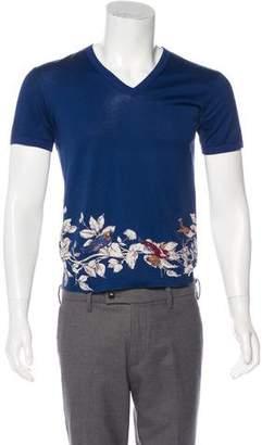 Dolce & Gabbana 2016 Swallow Print T-Shirt
