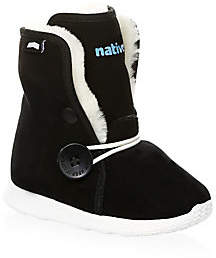 Native Luna Faux-Shearling Lined Junior Boots