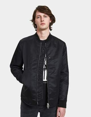 Acne Studios Mylon Shine Jacket in Black