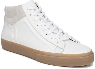 Vince Men's Flynn Glove Leather & Suede Mid-Top Sneakers