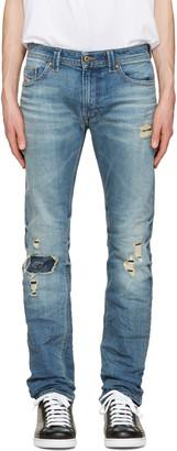 Diesel Blue Thavar Jeans $250 thestylecure.com