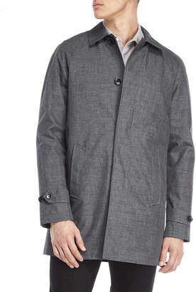MICHAEL Michael Kors Charcoal Button Front Coat