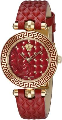 Versace Women's VQM030015 Vanitas Micro Analog Display Swiss Quartz Watch