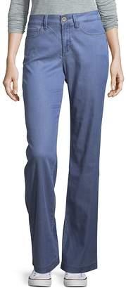 NYDJ Women's Chambray Wide-Leg Trousers